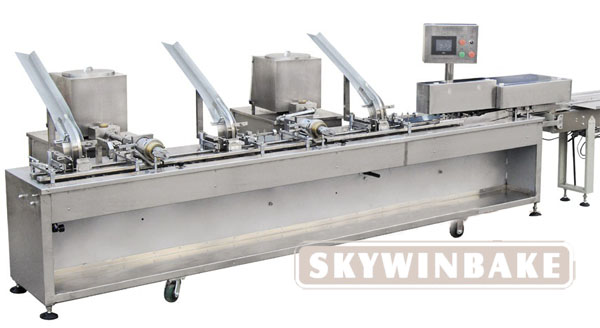 HY-D TYPE ONE LINE (3+2) BISCUIT SANDWICHING MACHINE