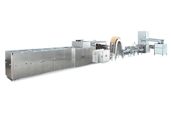 Complete wafer production line