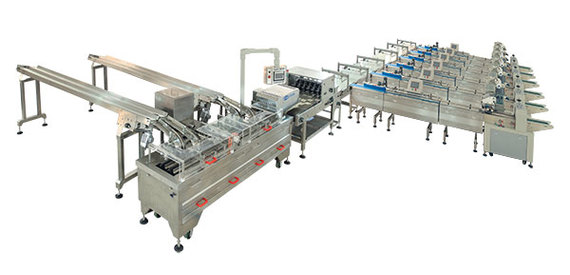 Full Automatic Biscuit Sandwiching and Packing Line